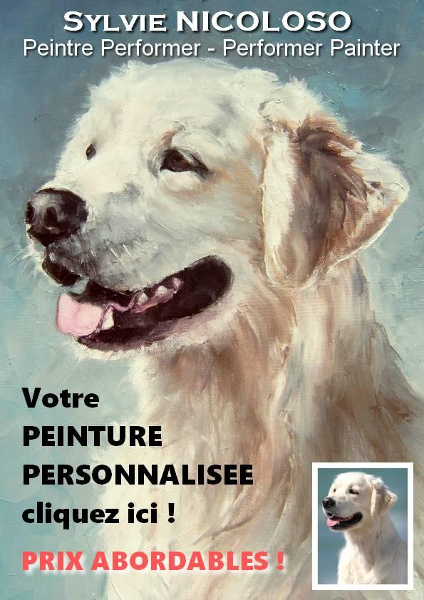 votre Peinture personnalisée d'après photo