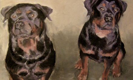 LES ROTTWEILERS . huile couteau