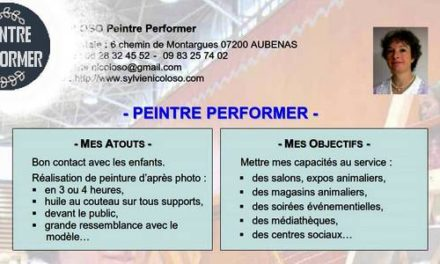 Presse . PEINTRE PERFORMER