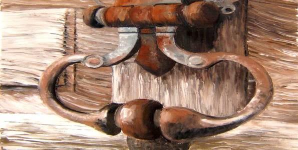HEURTOIR . huile couteau